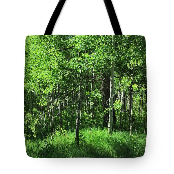 Mountain Greenery Tote Bag