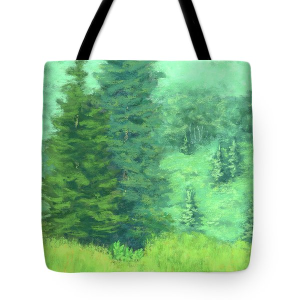 Mountain Greens Tote Bag