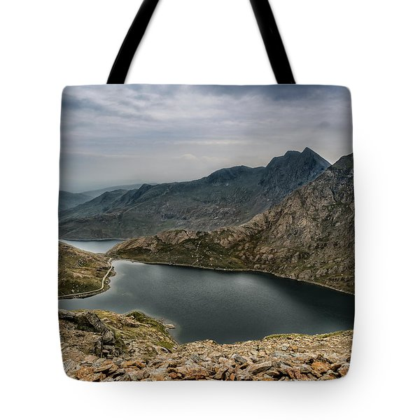 Mountain Hike Tote Bag