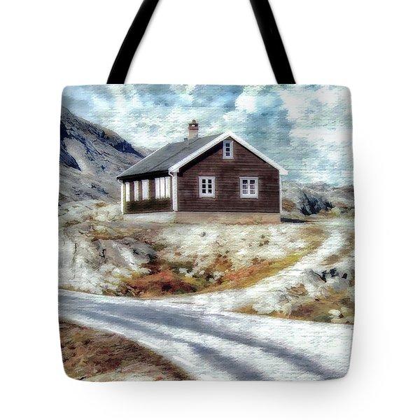 Mountain Home Tote Bag
