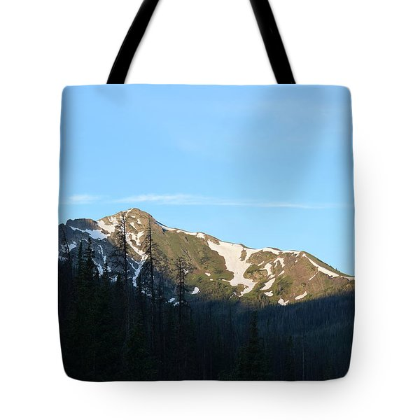 Mountain In Rocky Mountian Np Co Tote Bag