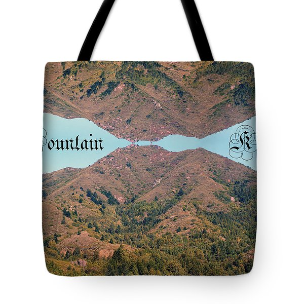 Mountain Kiss  Tote Bag