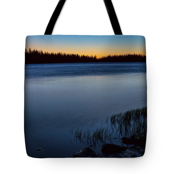 Tote Bag featuring the photograph Mountain Lake Glow by James BO Insogna