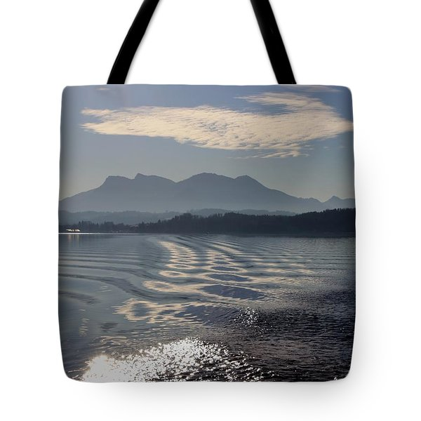 Mountain Lake. Tote Bag