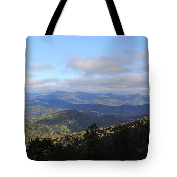 Mountain Landscape 2 Tote Bag