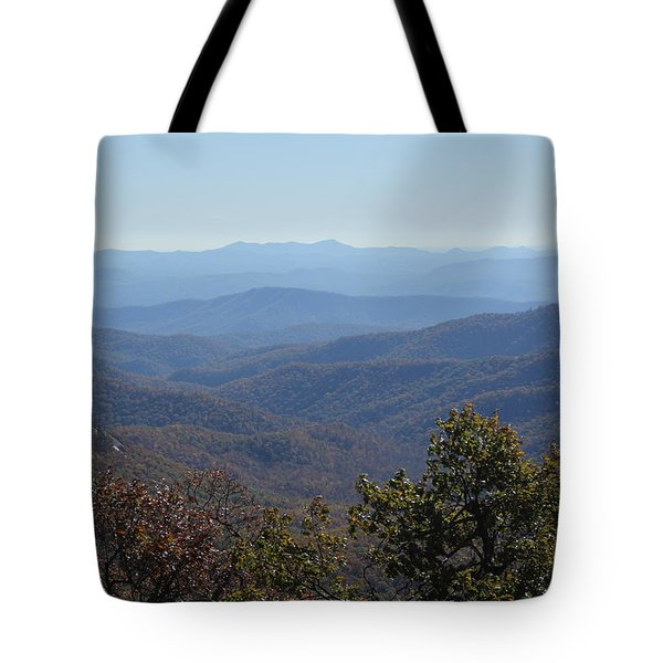 Mountain Landscape 4 Tote Bag
