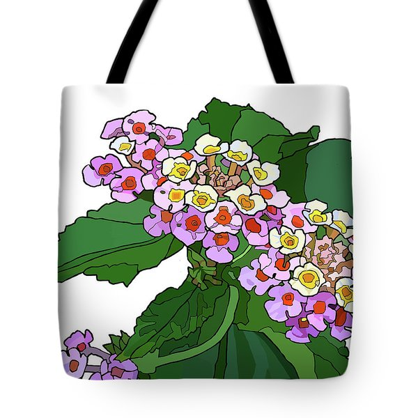 Mountain Laurel Tote Bag by Jamie Downs