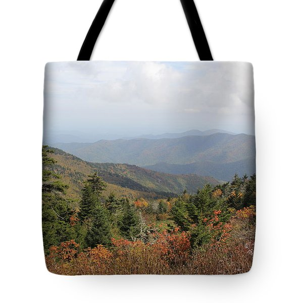 Mountain Long View Tote Bag