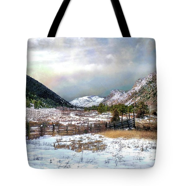 Mountain Meadow Tote Bag by Jim Hill