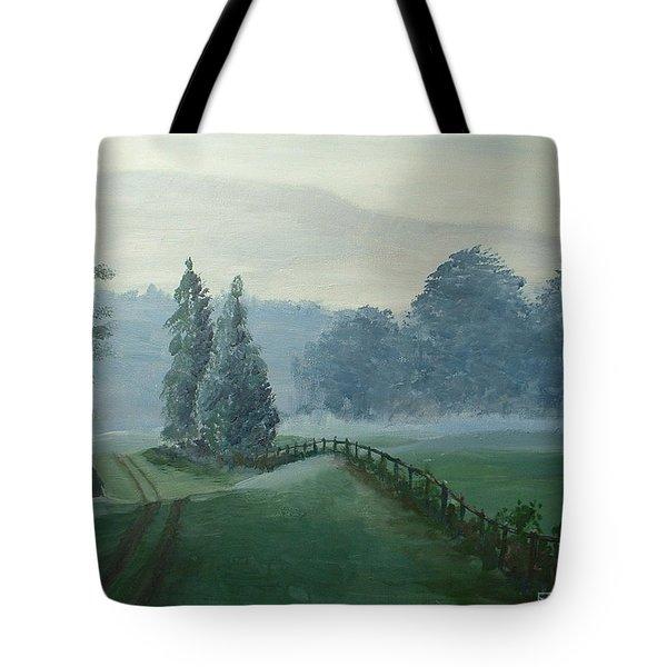 Mountain Mist Tote Bag