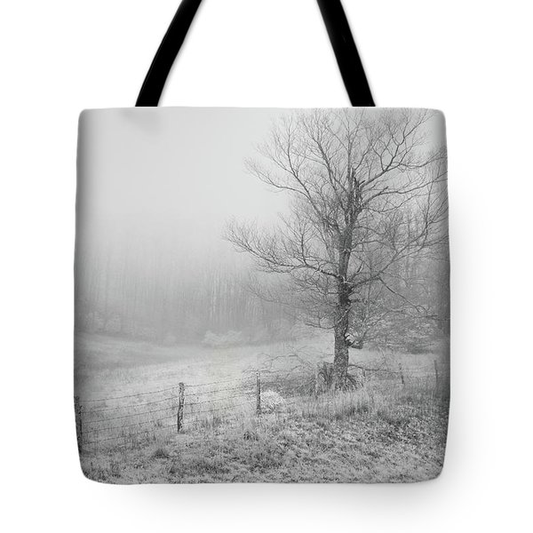 Mountain Mist Tote Bag by William Beuther