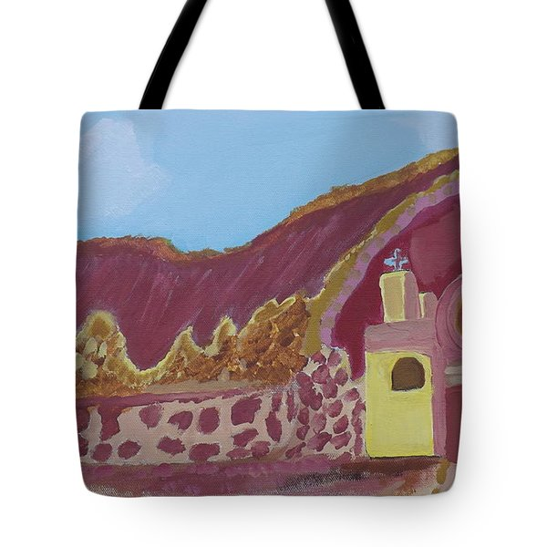 Mountain Mission Tote Bag