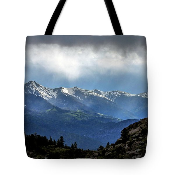 Mountain Moodiness Tote Bag