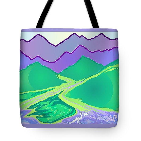 Mountain Murmurs Tote Bag