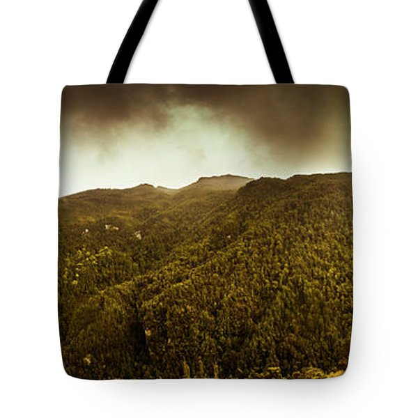 Mountain Of Trees Tote Bag