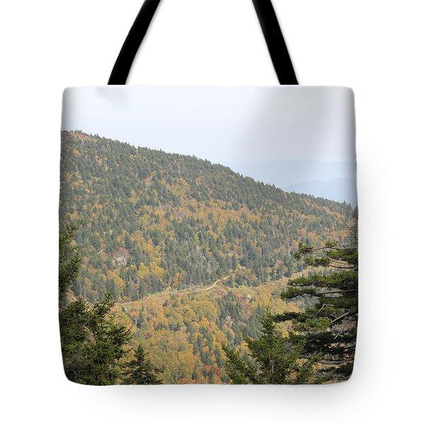 Mountain Passage Tote Bag