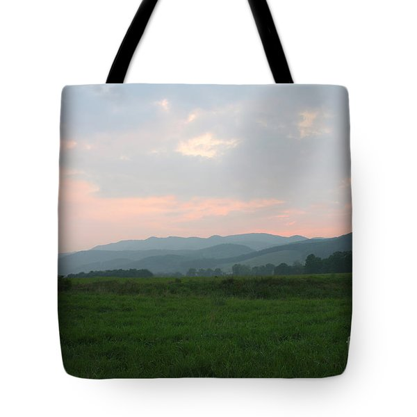 Mountain Pasture Tote Bag