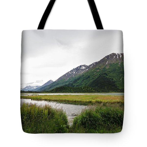 Mountain Peak Dreams Tote Bag