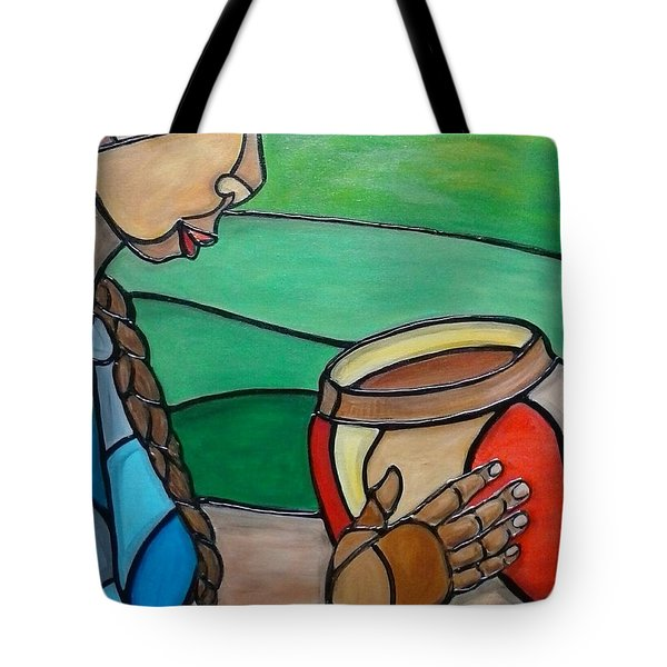 Mountain Potter Tote Bag by Jenny Pickens