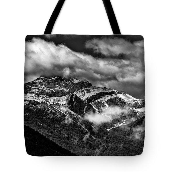 Mountain Range Canada Tote Bag