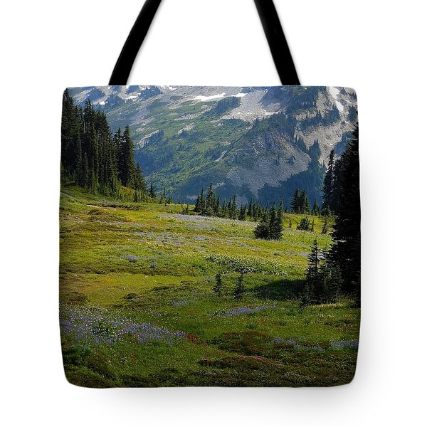 Mountain Retreat Tote Bag