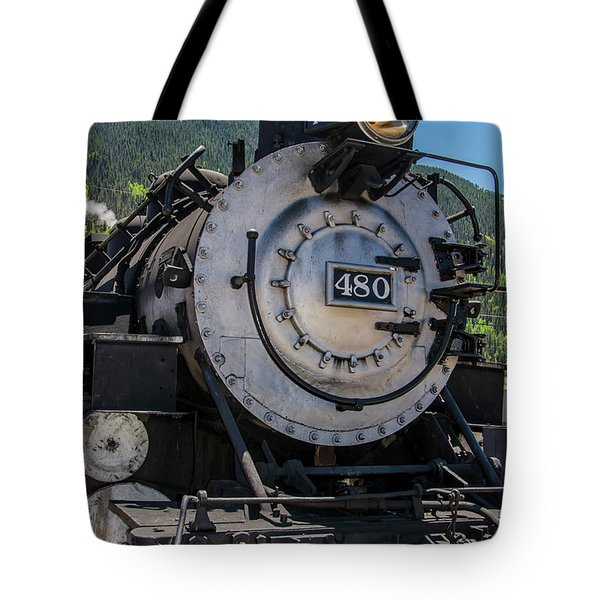 Tote Bag featuring the photograph Mountain Ride by Colleen Coccia