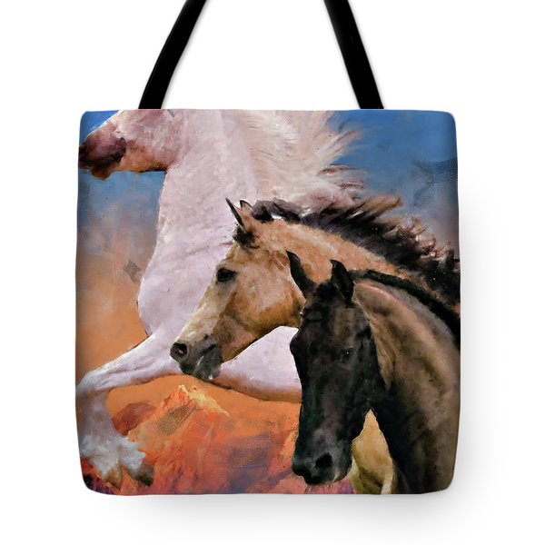 Mountain Ridge Royalty Tote Bag