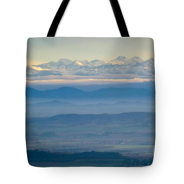 Mountain Scenery 11 Tote Bag