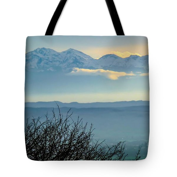 Mountain Scenery 14 Tote Bag by Jean Bernard Roussilhe