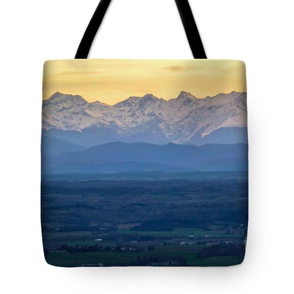 Mountain Scenery 15 Tote Bag by Jean Bernard Roussilhe