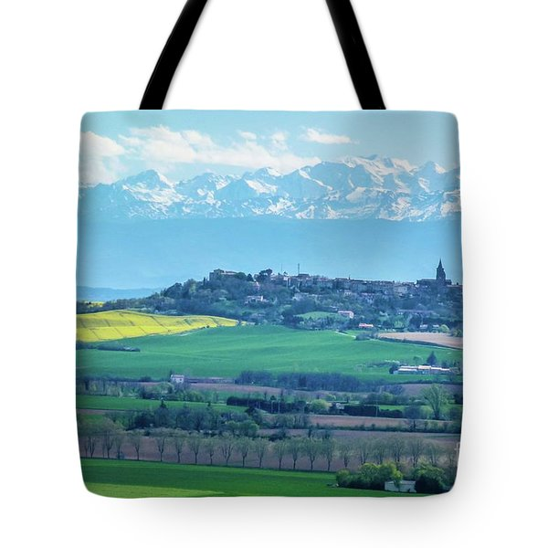 Mountain Scenery 17 Tote Bag by Jean Bernard Roussilhe