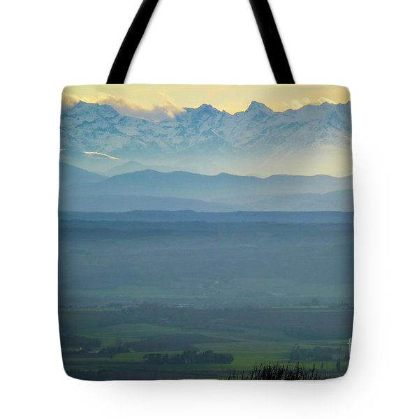 Mountain Scenery 18 Tote Bag