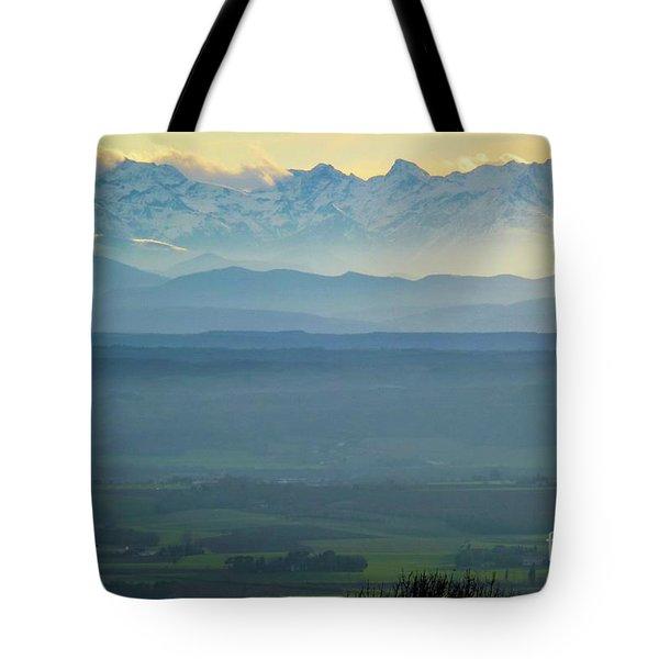 Mountain Scenery 18 Tote Bag by Jean Bernard Roussilhe
