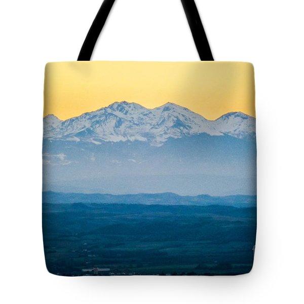 Mountain Scenery 7 Tote Bag