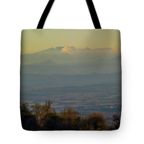 Mountain Scenery 8 Tote Bag