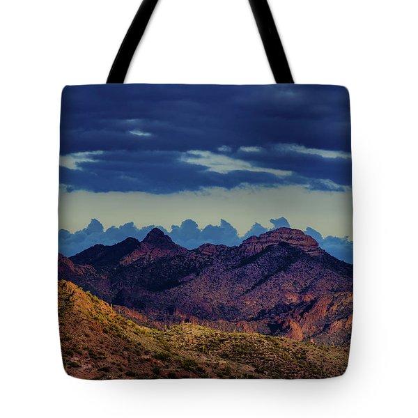 Mountain Shadow Tote Bag