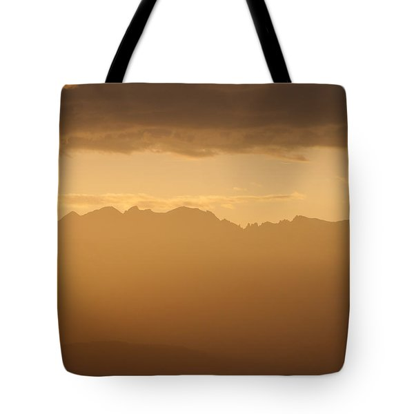 Tote Bag featuring the photograph Mountain Shadows by Colleen Coccia