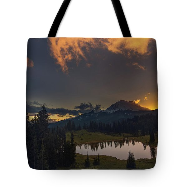 Mountain Show Tote Bag