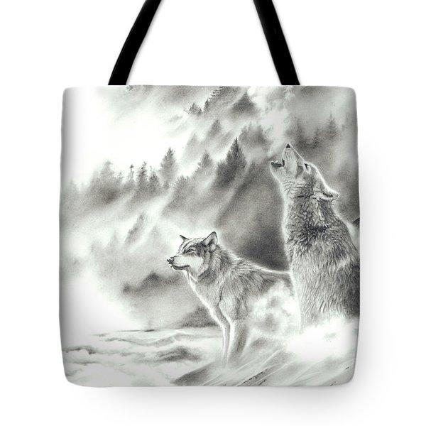 Mountain Spirits Tote Bag
