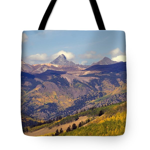 Mountain Splendor 2 Tote Bag by Marty Koch