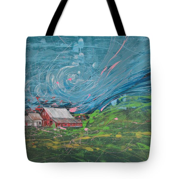 Strong Storm Tote Bag