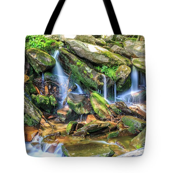 Mountain Stream II Tote Bag