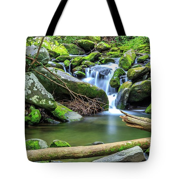 Mountain Stream IIi Tote Bag