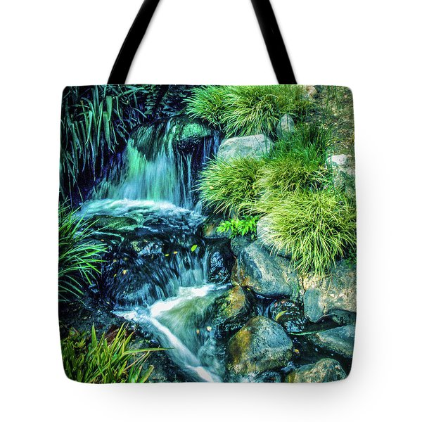 Tote Bag featuring the photograph Mountain Stream by Samuel M Purvis III