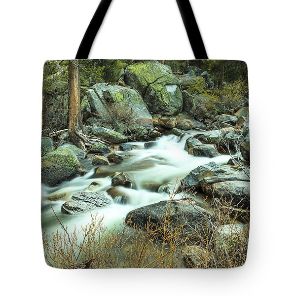 Mountain Stream Yosemite 2 Tote Bag