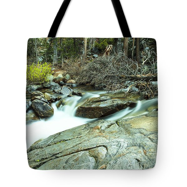 Mountain Stream Yosemite 3 Tote Bag