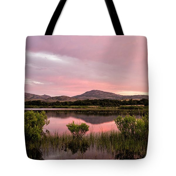 Mountain Sunrise Tote Bag