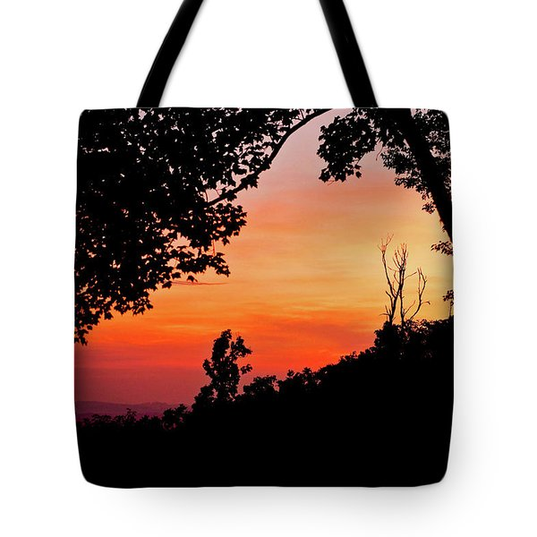 Mountain Sunrise Tote Bag by Meta Gatschenberger