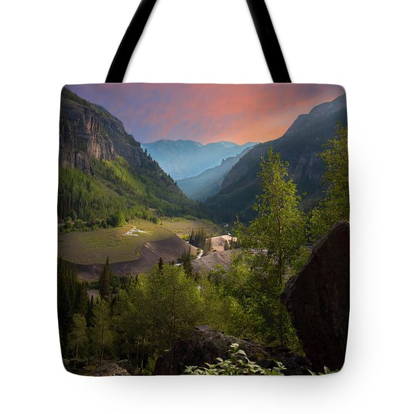 Mountain Time Tote Bag