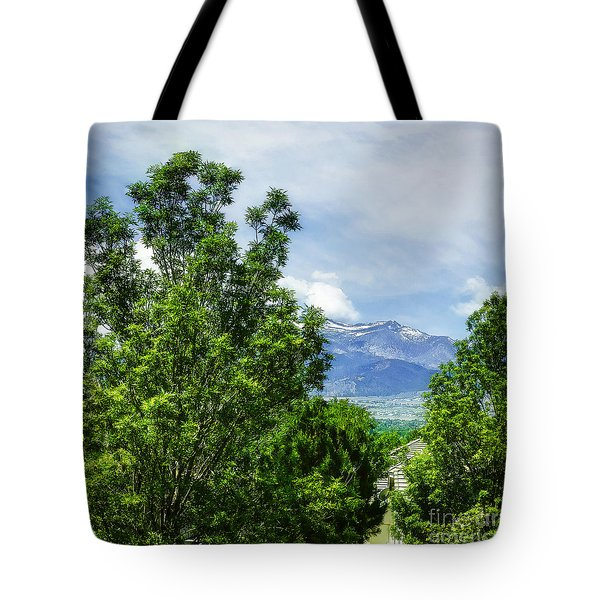 Mountain Top-3 Tote Bag